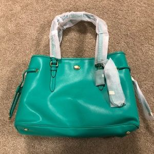 NEW Coach large Peyton leather Carryall NWT